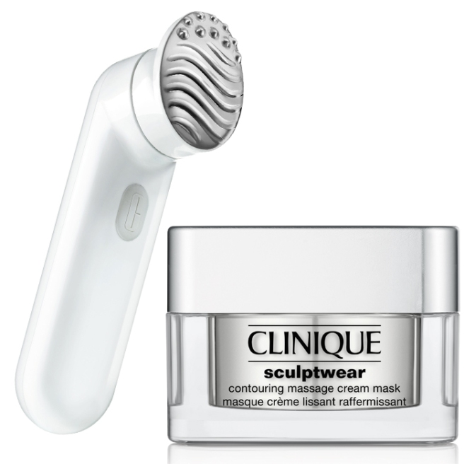 Clinique-new-Sculptwear-Contouring-Massage-Cream-and-Sonic-Brush-Massage-Head-