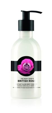 British Rose Instant Glow Body Essence 250ML